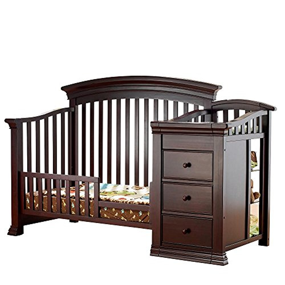 Sorelle Verona Crib and Changer Guard Rail - Espresso