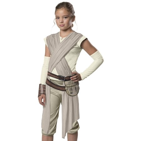 Star Wars: Forces of Destiny Deluxe Rey of Jakku Child Costume, Small - image 1 of 1