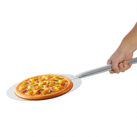 Pizza Lifter - Anauto Aluminum Pizza Peel Kitchen Spatula Handle Cooking Lifter Paddle Baking Tray, Aluminium Alloy Pizza Holder