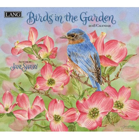 Birds In The Garden 2018 Calendar  Free Bonus Download 12 Images Desktop Wallpaper