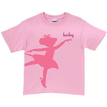 Personalized Angelina Ballerina Center Stage Toddler Pink - Ballerina Personalized Note