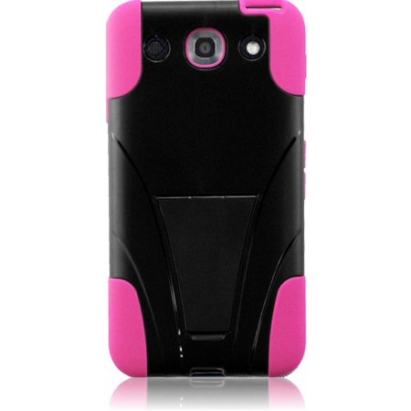 Dual Hybrid T-Stand Case for LG Optimus G Pro E980 -