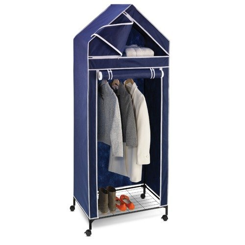 Honey Can Do Portable Storage Closet in Blue