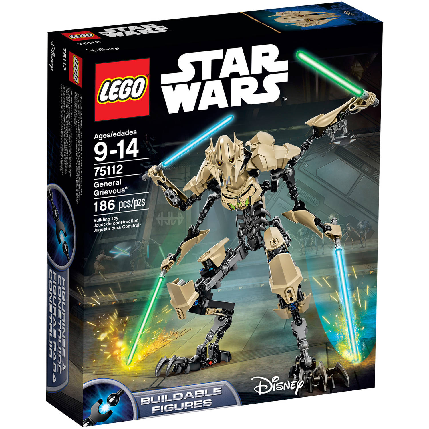 "LEGO Star Wars General Grievous"" 75112"