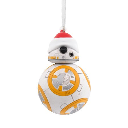 Hallmark Star Wars BB-8 in Santa Hat Christmas Ornament](Pittsburgh Steelers Christmas Ornaments)