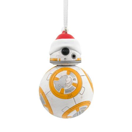 Hallmark Star Wars BB-8 in Santa Hat Christmas Ornament