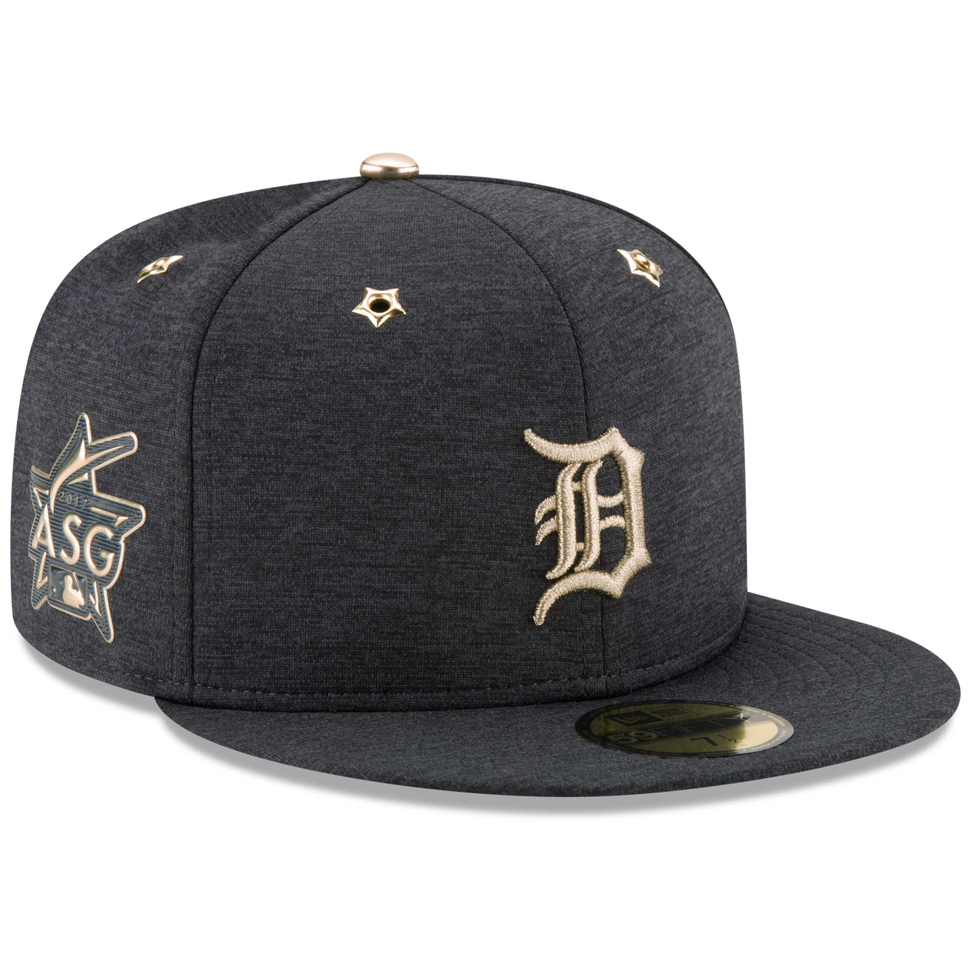 buy online 0cf49 f2e8d ... buy detroit tigers new era 2017 mlb all star game side patch 59fifty  fitted hat heathered