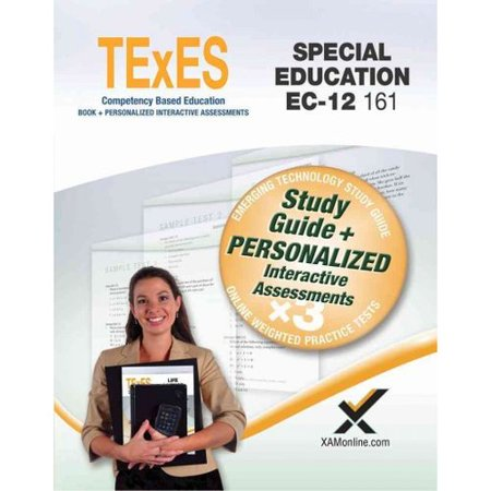 Texes Special Education Ec 12 161  Teacher Certification Exam