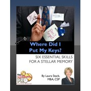 Where Did I Put My Keys - eBook