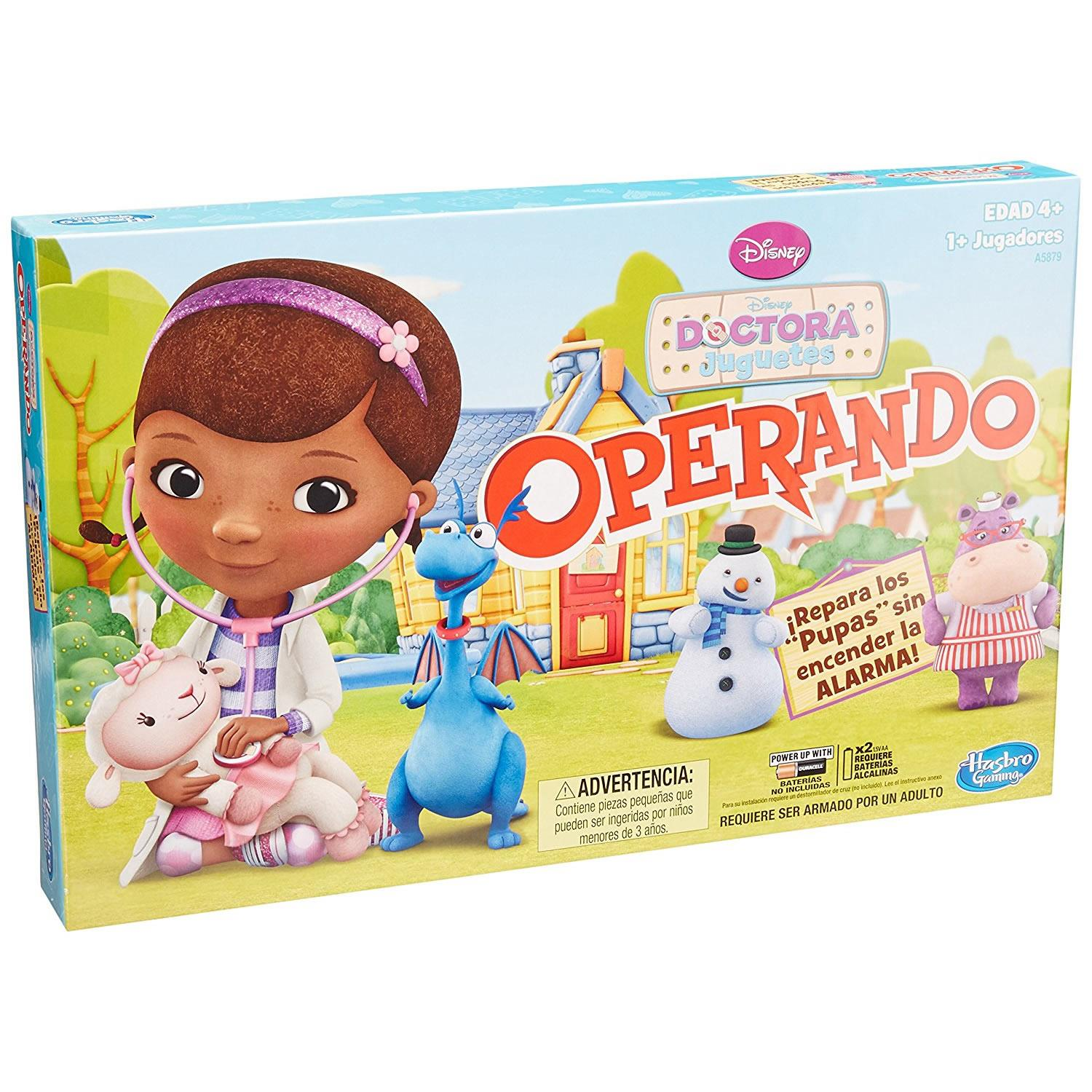 Operation Disney Doc McStuffins Spanish Version Doctora Juguetes Operando Game Hasbro... by Hasbro
