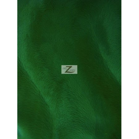 Short Sleeve Material (Velboa Faux Fake Fur Solid Wavy Short Pile Fabric / Kelly Green / Sold By The Yard)