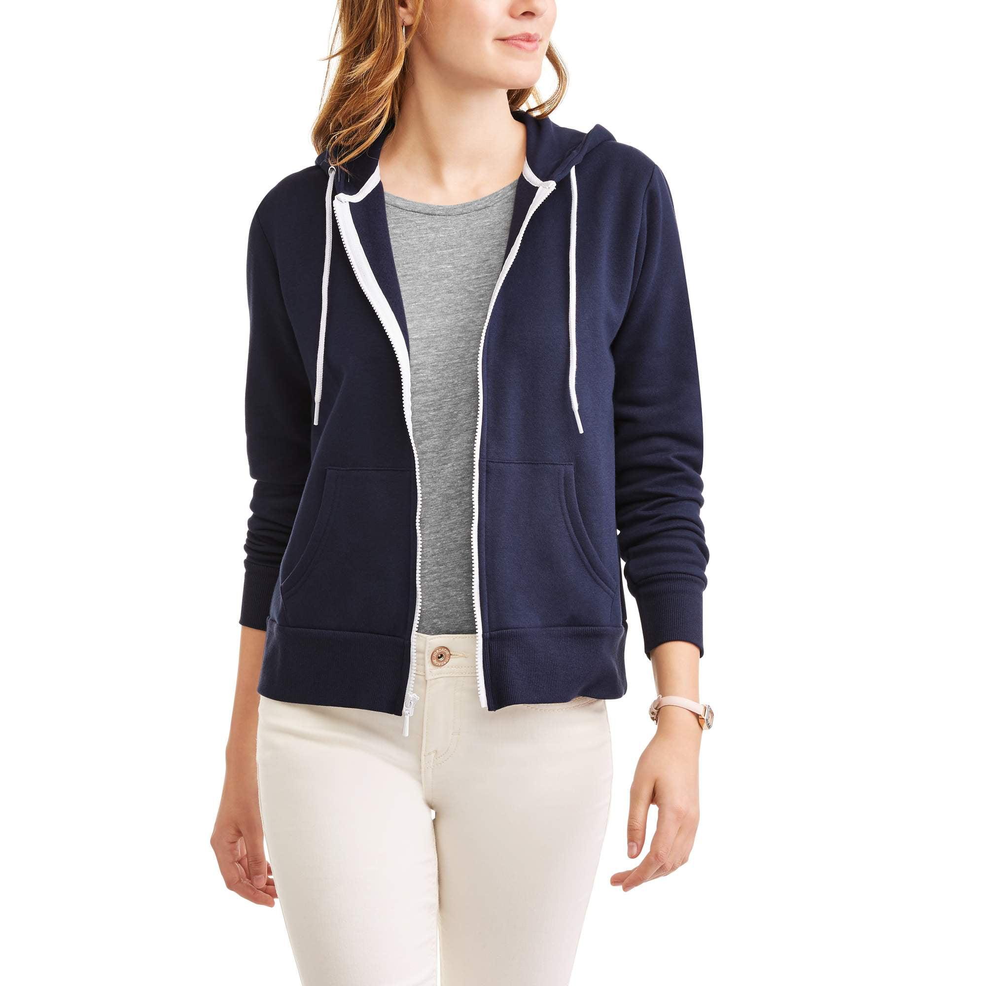 Women's Cozy Fleece Zip-up Hoodie