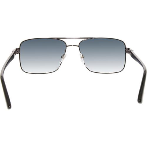 2bdeda73de6a3 Versace - Men s Gradient VE2141-1255X1-58 Black Rectangle Sunglasses -  Walmart.com