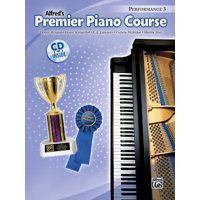 Alfred's Premier Piano Course: Premier Piano Course Performance, Bk 3: Book & CD (Other)