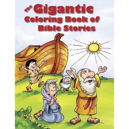 Fiery Furnace Bible Story (The Gigantic Coloring Book of Bible Stories)