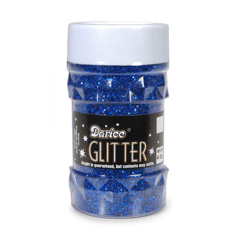 Glitter Jar - Royal Blue - Big Value - 4 ounces