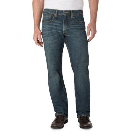000256a55ec Signature by Levi Strauss & Co. Men's Relaxed Fit Jeans - Walmart.com
