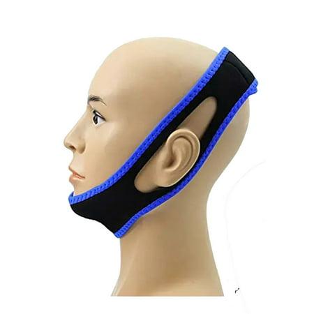 Snore Relief  Chin Strap Belt    Sleep Apnea Tmj Support Solution