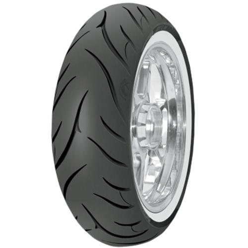 Avon Tyres Cobra AV72 Reinforced White Wall Bias-Belted Rear Tire 140/90B16