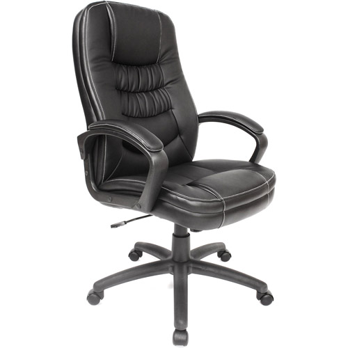 Soft-Touch Highback Leather Executive Chair