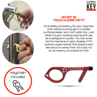 touch|less KEY - no contact multitool