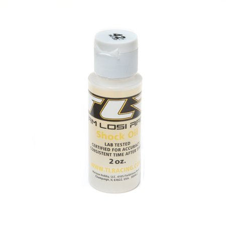 Team Losi Racing Silicone Shock Oil, 42.5wt, 2oz, TLR74011
