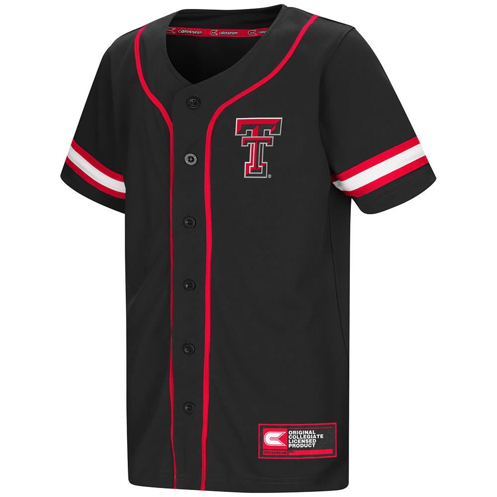 Youth Texas Tech Red Raiders Baseball Jersey - S