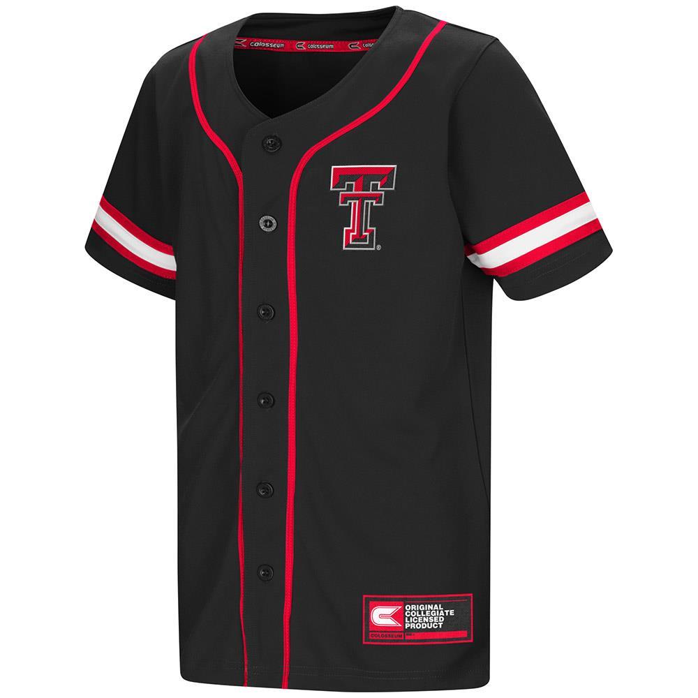Youth Texas Tech Red Raiders Baseball Jersey - S
