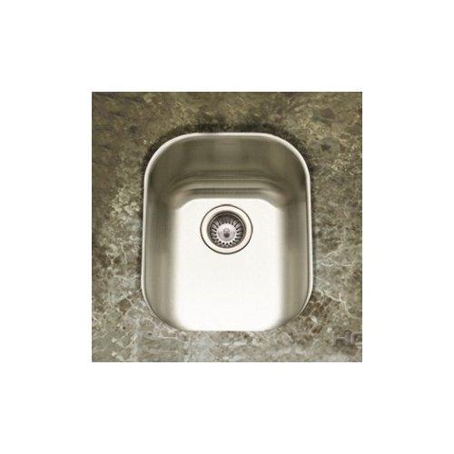 Houzer Club Undermount Large Bar/Prep Sink in Satin