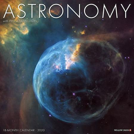 Willow Creek Press 2020 Astronomy Wall Calendar (Paper Source Wall Calendar)