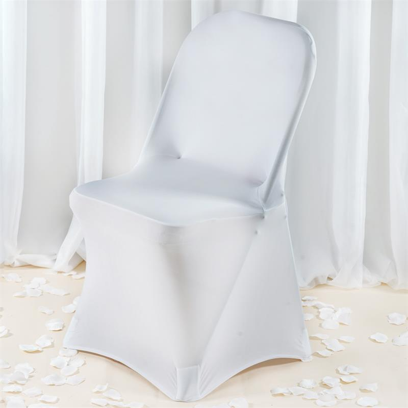 BalsaCircle 1 pc Premium Spandex Folding CHAIR COVER Wedding Supplies