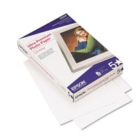 Epson Ultra-Premium Glossy Photo Paper, 79 lbs., 4 x 6, 60 Sheets/Pack -EPSS042181