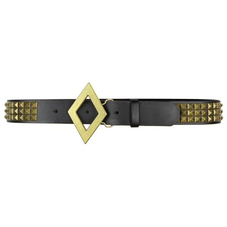 DC Comics Suicide Squad Harley Quinn Black & Gold Studded Cosplay Belt
