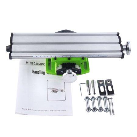 DIY Multi-function Compound Milling Machine Mini Lathe With Cross Sliding Table  XY Stroke BG6300