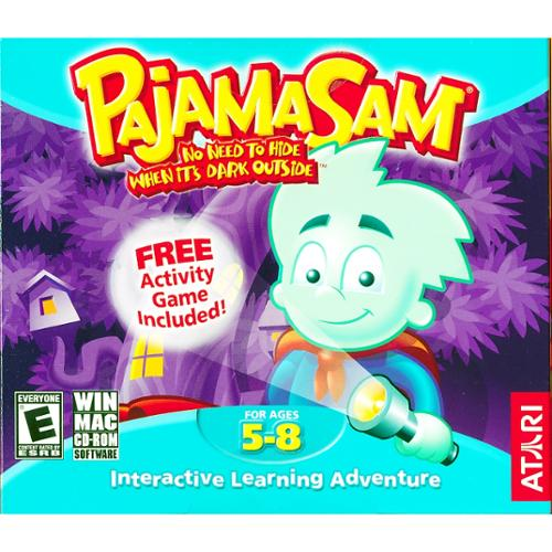 Humongous Entertainment Pajama Sam - No Need To Hide When Its Dk [windows]