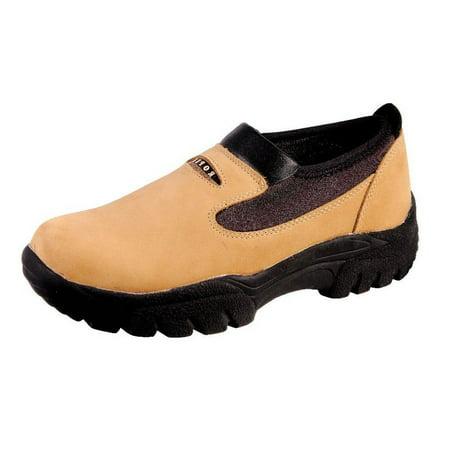 Roper Western Shoes Mens Leather Slip On Brown 09-020-0601-0250 BR