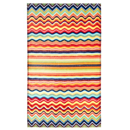 - Fiesta Multicolor Zig Zag Kitchen Towel One Size Multi