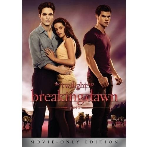BREAKING DAWN  (DVD/SINGLE DISC)