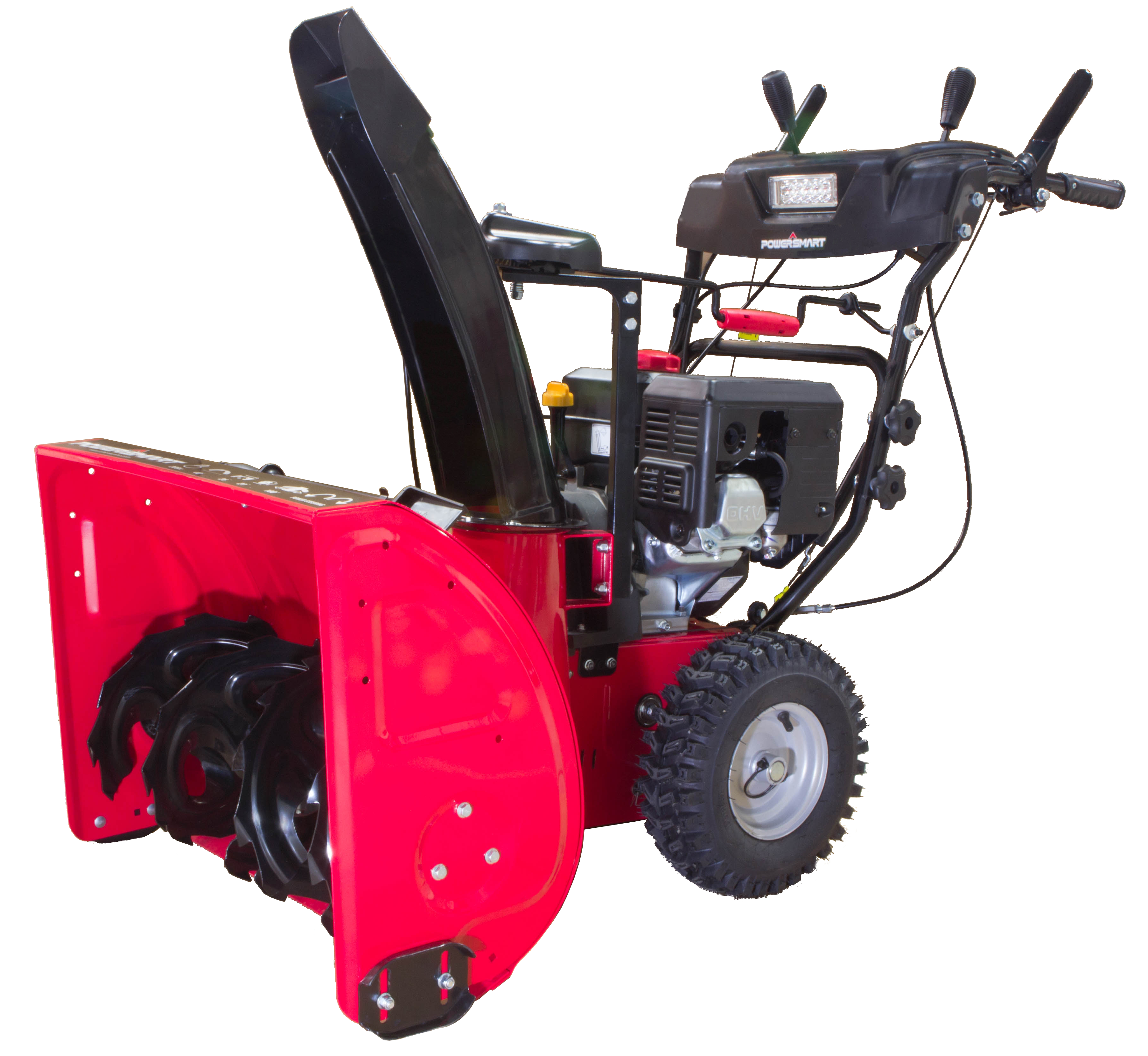 PowerSmart DB7126PA 26 in. 212cc 2-Stage Electric Start Gas Snow Blower with Power Assist Turning and... by Amerisun Inc.