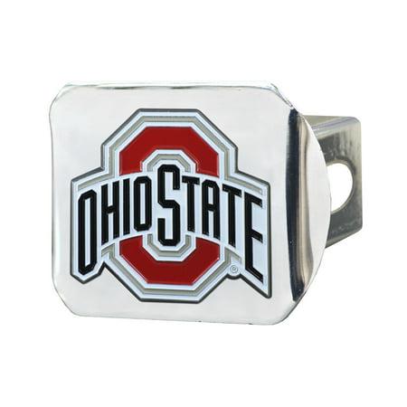 Ohio State University Color Hitch Chrome 3.4