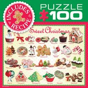Sweet Christmas Baking 100 Piece Puzzle