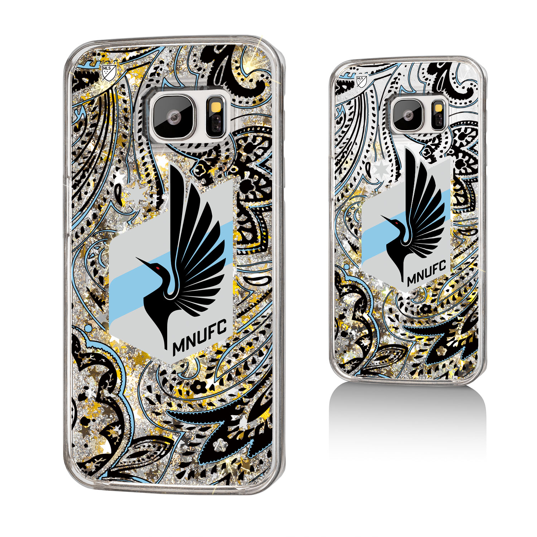 Minnesota United FC MNUFC Paisley Glitter Case for Galaxy S7