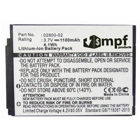 02800-02 Battery for Summer Baby Monitor 02000 02004 02800 02804 02805 28030