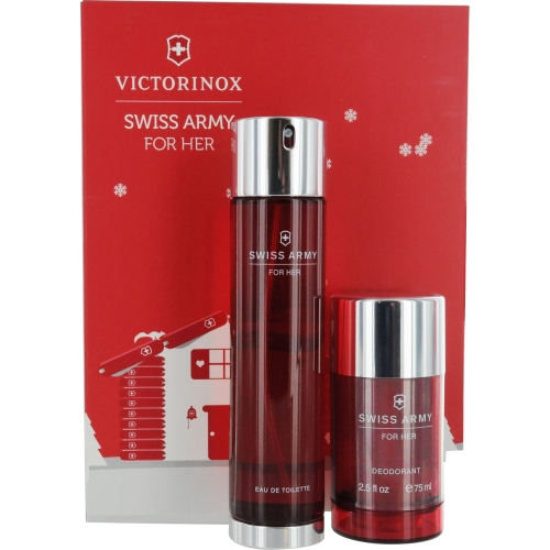 Swiss Army Set-Edt Spray 3.4 Oz & Deodorant Stick 2.5 Oz By Swiss Army