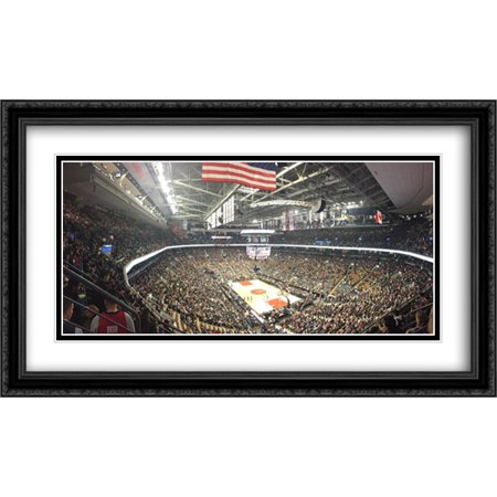 Air Canada Centre 2X Matted 40X24 Large Black Ornate Framed Art Print From The Stadium Series
