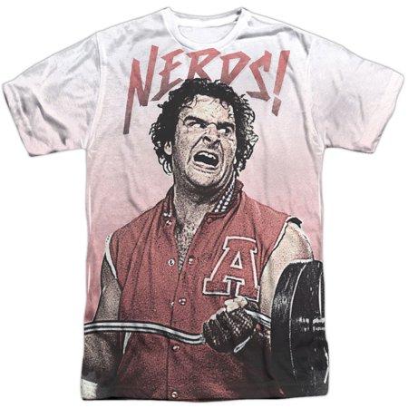 Revenge Of The Nerds Men's  Nerds Sublimation T-shirt - Nerd Clothes