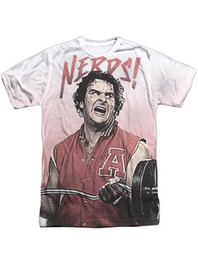 add99e0434092 Product Image Revenge Of The Nerds Men's Nerds Sublimation T-shirt White