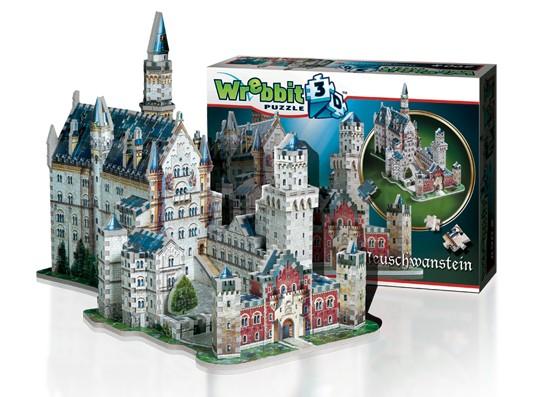 Wrebbit 3D: Neuschwanstein Castle, Germany Foam Puzzle (890pcs) by