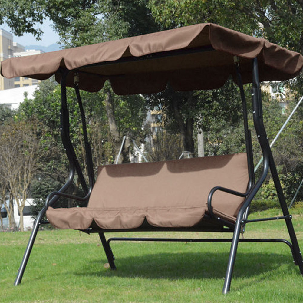 Double Hammock Chair Swing Bed Garden Camping Hanging Sleeping Seat Courtyard