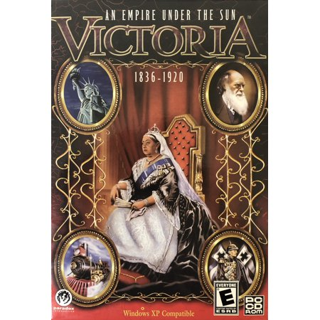 Victoria: An Empire Under the Sun PC CDRom (1836 - 1920) Guide Your Nation Through Nearly 100 Years of (Victoria An Empire Under The Sun Cheats)